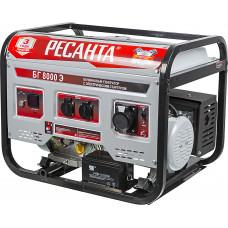 Генератор бензиновый Ресанта БГ 8000 Э