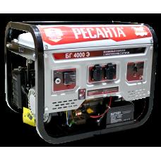 Генератор бензиновый Ресанта БГ 4000 Э